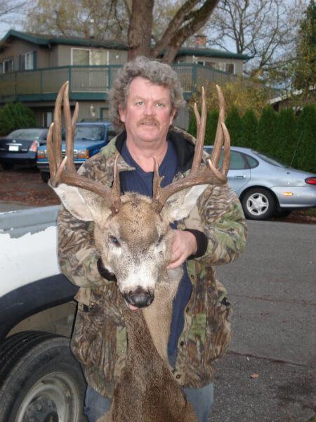 Colin's beautiful buck