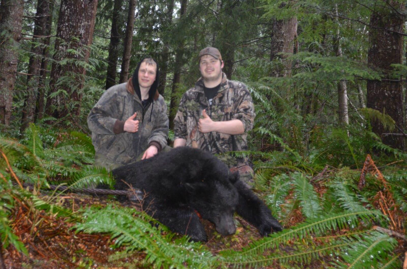 Black Bear from a local pair of hunters