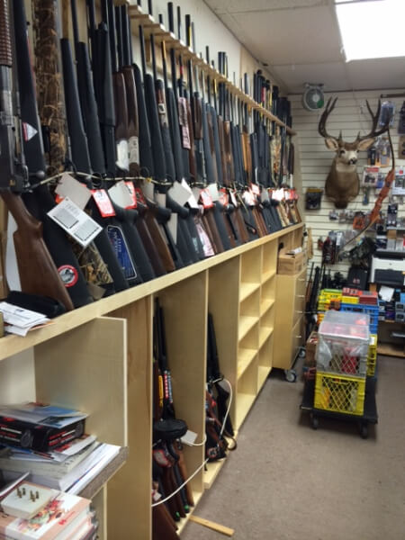 Gun selection in Stillwater Sports